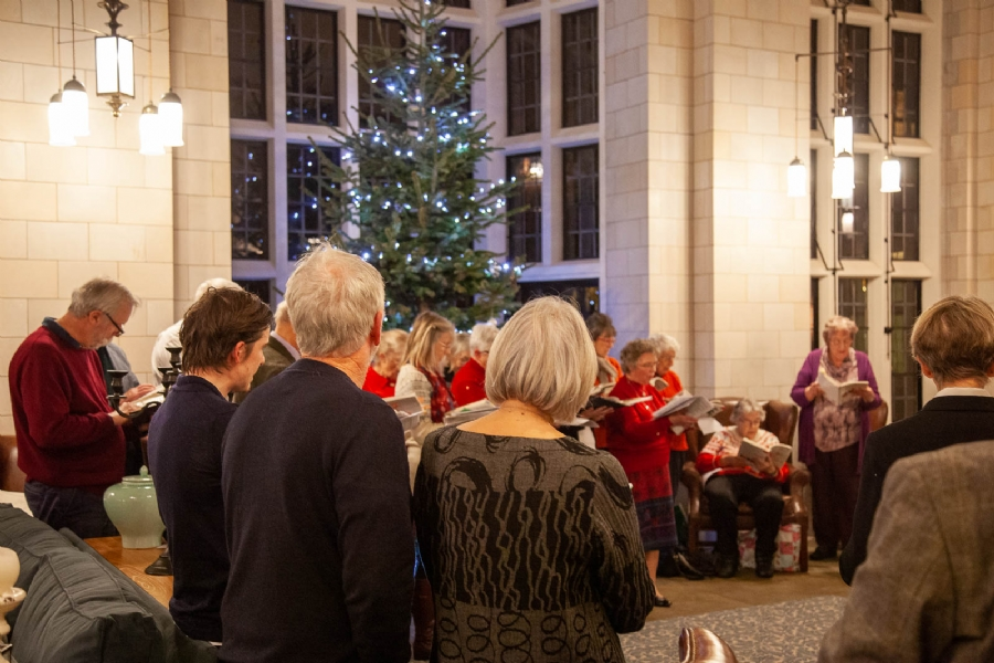 Midhurst Christmas carol concert held at King Edward VII Estate