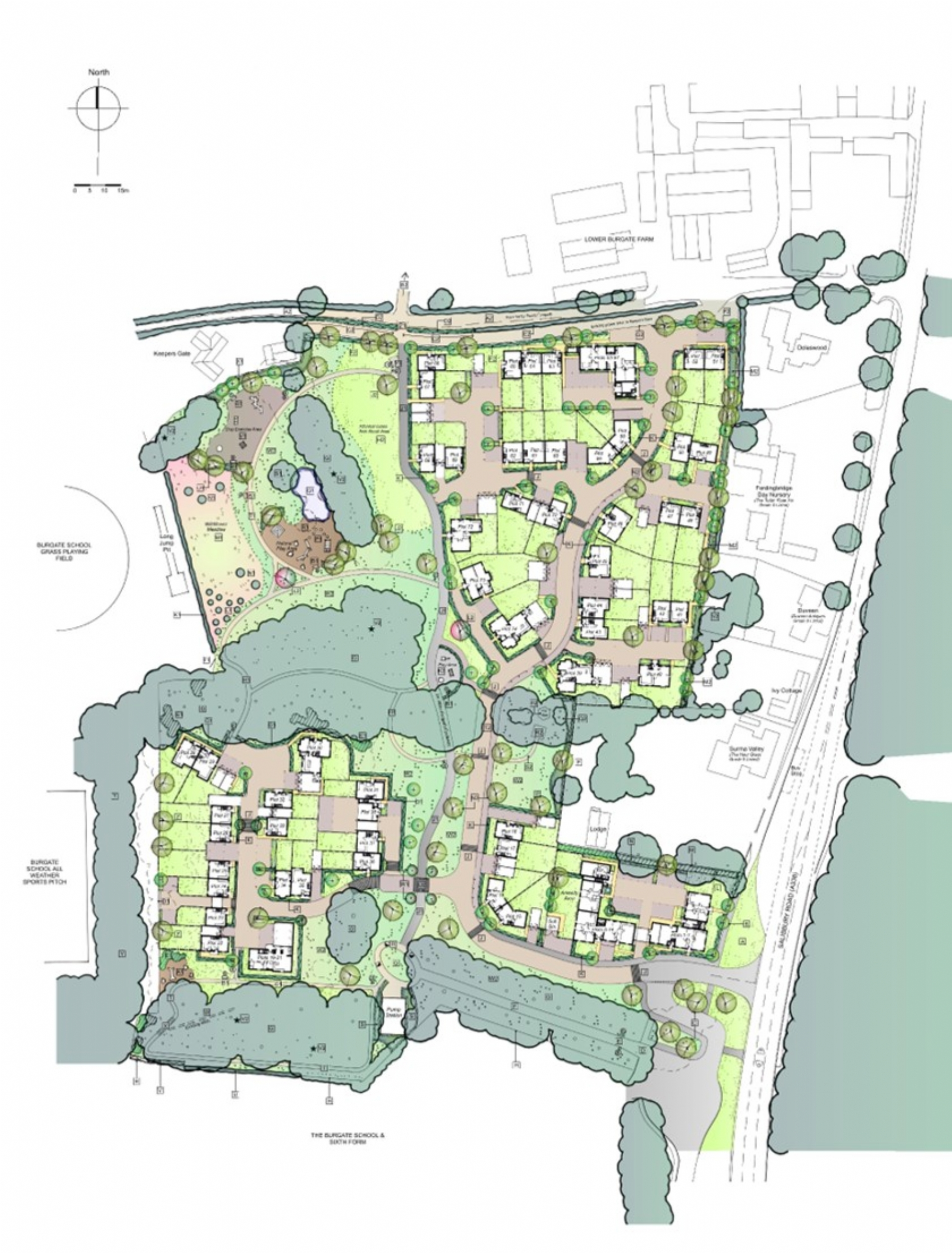 Metis Homes submit planning application for new homes in Fordingbridge
